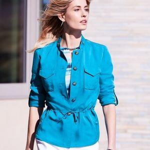 Women's Roll Tab-Sleeve Soft Jacket